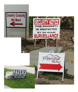 Real Estate & Yard Signs